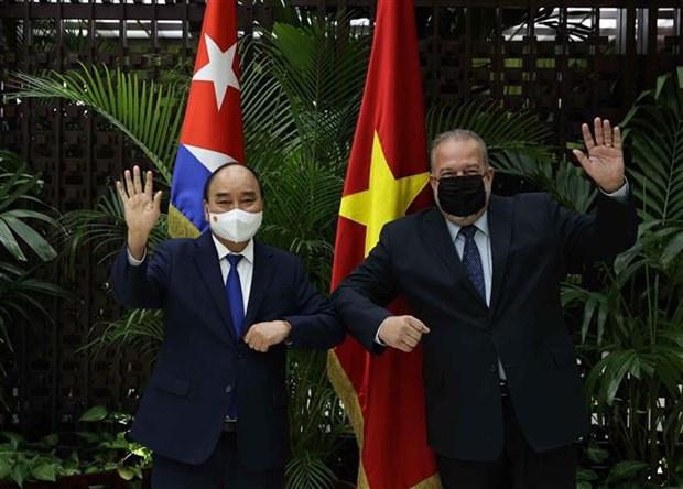 La presse cubaine accorde une attention particuliere a la visite du president du Vietnam hinh anh 2