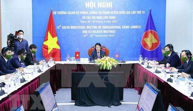 L'ASEAN s'engagent a renforcer la cooperation en matiere de criminalite transnationale hinh anh 1