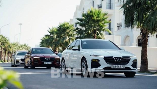 VinFast : 3.497 voitures vendues en septembre hinh anh 1