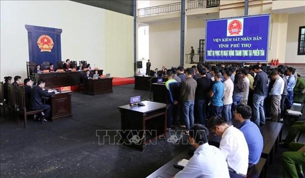 Phu Tho : ouverture du proces pour les organisateurs de jeux d'argent en ligne hinh anh 1