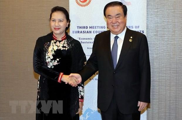 Developpement du partenariat strategique avec la Republique de Coree hinh anh 1