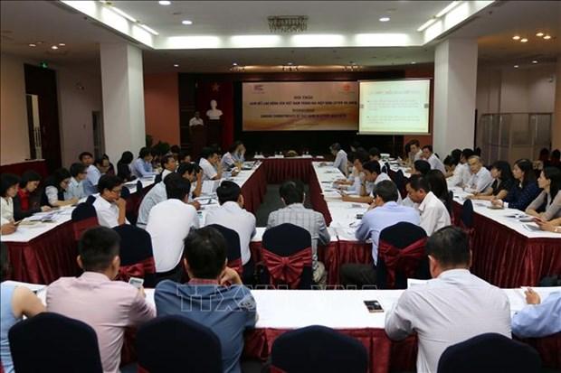 Emploi : colloque sur les engagements du Vietnam dans le cadre d'accords de libre-echange hinh anh 1