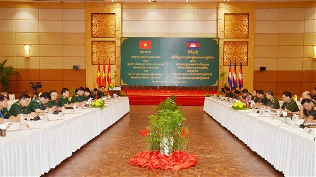 Vietnam et Cambodge cooperent dans la protection frontaliere hinh anh 1