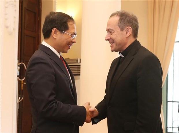 Reunion du Groupe de travail mixte Vietnam - Vatican hinh anh 1