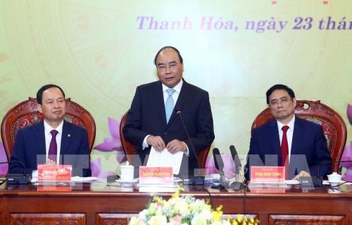 Le PM appelle Thanh Hoa a mieux exploiter ses atouts hinh anh 1