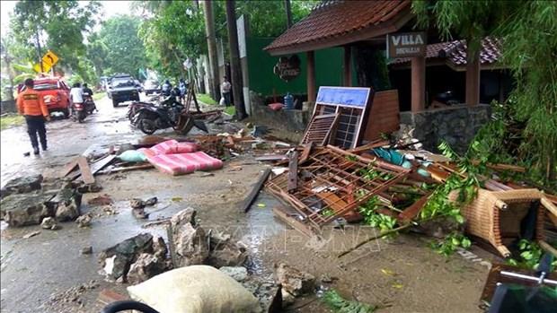 Tsunami en Indonesie : aucune information sur les etrangers parmi les victimes hinh anh 1