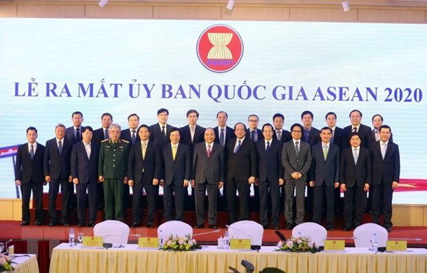 Le Comite national pour la presidence vietnamienne de l'ASEAN en 2020 voit le jour hinh anh 1
