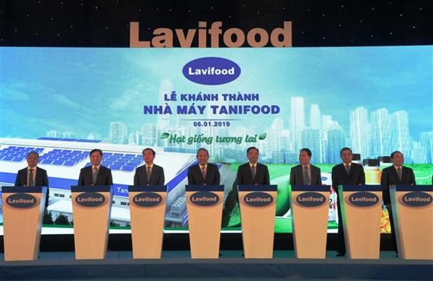 Transformation de fruits et legumes : inauguration de l'usine la plus moderne au Vietnam hinh anh 1
