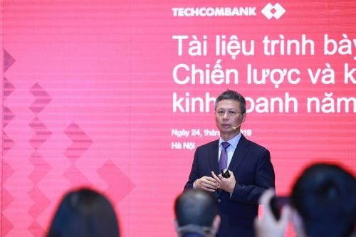 La Techcombank enregistre un bond enorme de ses benefices hinh anh 1