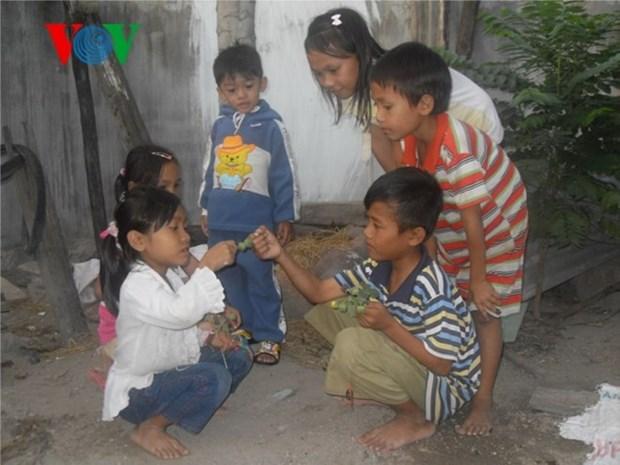 Les jeux traditionnels des Cham de Ninh Thuan hinh anh 1