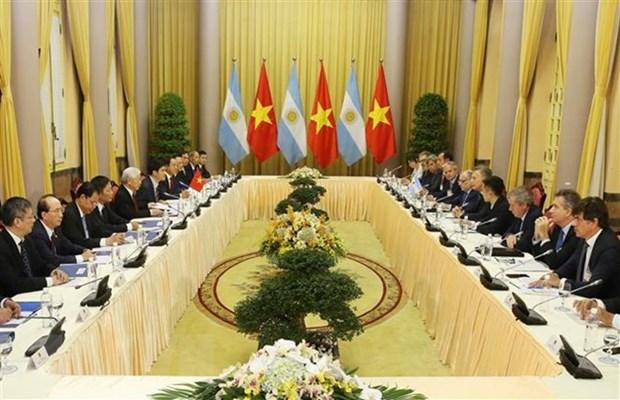 Le Vietnam et l'Argentine s'engagent dans un partenariat strategique hinh anh 2