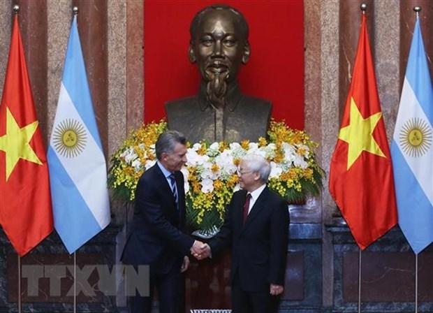 Le Vietnam et l'Argentine s'engagent dans un partenariat strategique hinh anh 1
