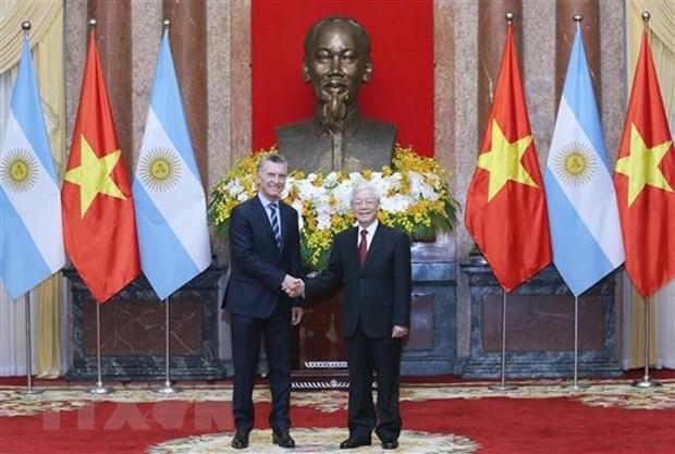 Communique conjoint Vietnam-Argentine hinh anh 1