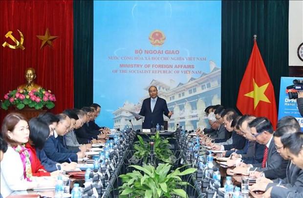 Le PM examine les preparatifs du 2e Sommet Etats-Unis - RPDC hinh anh 1