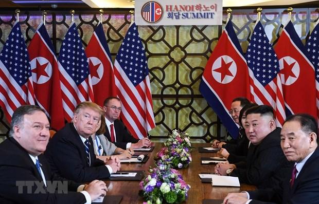 Reconnaissance des efforts des parties pour le 2e Sommet Etats-Unis - RPDC hinh anh 1
