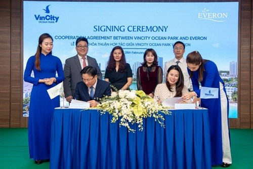 VinCity Ocean Park retient l'attention des clients sud-coreens hinh anh 1