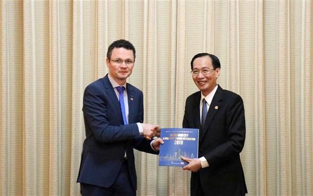 Ho Chi Minh-Ville renforce sa cooperation avec l'Irlande hinh anh 1