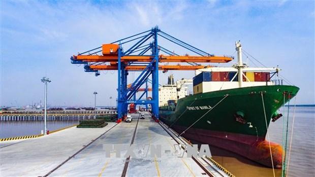 Hai Phong cherche a developper ses services de logistique hinh anh 1