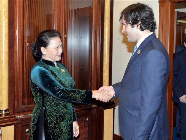 La Georgie va ouvrir son ambassade au Vietnam a la fin 2019 hinh anh 1