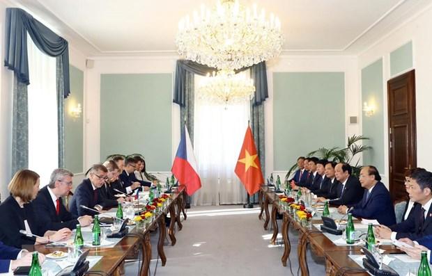 Declaration commune Vietnam-Republique tcheque hinh anh 1