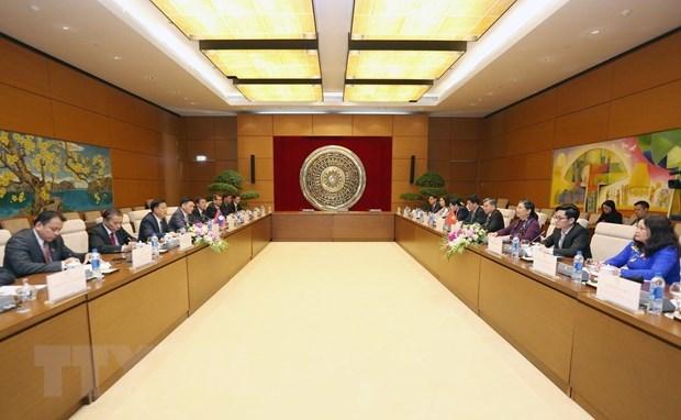 Renforcement de la cooperation entre les Assemblees nationales Vietnam-Laos hinh anh 1