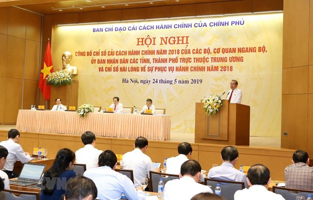Reforme administrative : Quang Ninh et la BEV en tete du classement PAR INDEX 2018 hinh anh 1