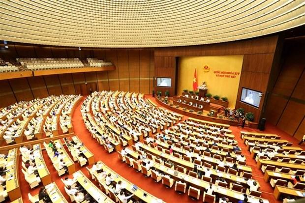 L'Assemblee nationale souligne l'importance de l'amelioration du climat des affaires hinh anh 1