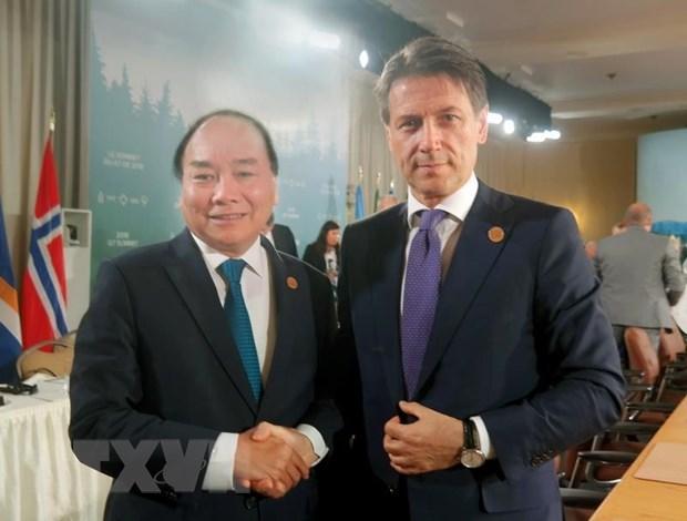 Developpement des relations entre le Vietnam et l'Italie hinh anh 1
