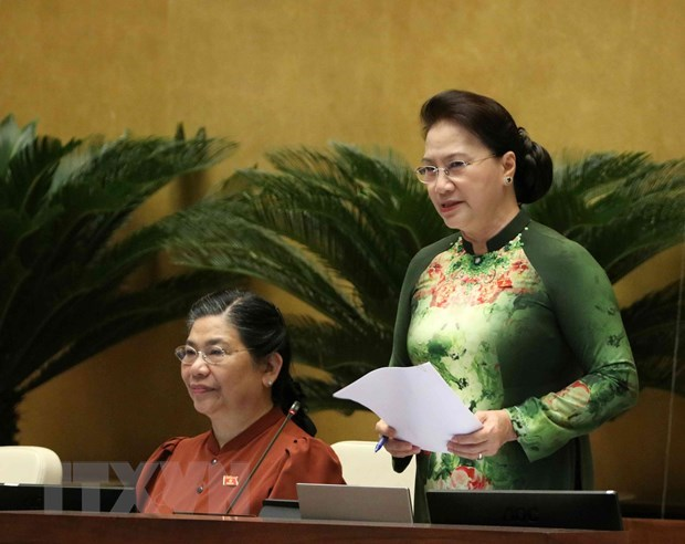 Poursuite des seances d'interpellation de l'Assemblee nationale hinh anh 1
