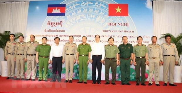 Le Vietnam et le Cambodge lancent une operation contre la drogue dans les zones frontalieres hinh anh 1