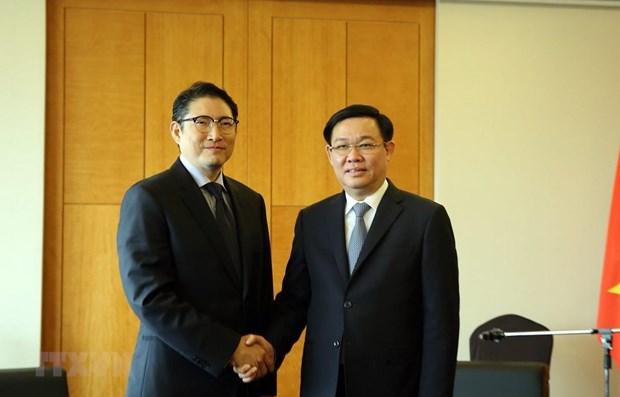 Le Vietnam s'engage a favoriser l'extension des activites des investisseurs sud-coreens hinh anh 1
