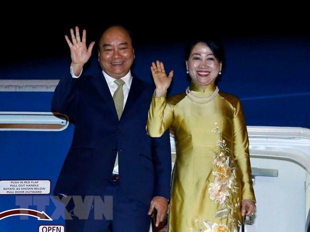 Le PM termine avec succes sa tournee au Japon hinh anh 1