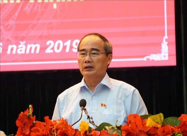 Ho Chi Minh-Ville enregistre une croissance de 7,86% au premier semestre hinh anh 1