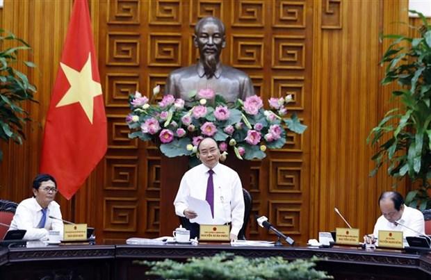 Nguyen Xuan Phuc travaille avec la Television du Vietnam hinh anh 1