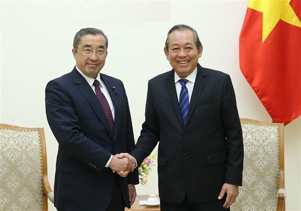 Renforcement du partenariat strategique approfondi Vietnam-Japon hinh anh 1
