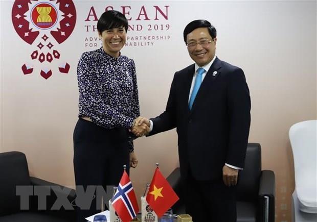 ASEAN : le Vietnam participe a plusieurs conferences en Thailande hinh anh 4