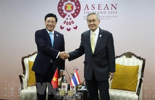 ASEAN : le Vietnam participe a plusieurs conferences en Thailande hinh anh 3