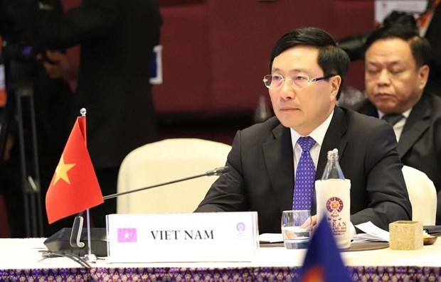 Le Vietnam participe aux conferences ministerielles entre l'ASEAN et des partenaires en Thailande hinh anh 1