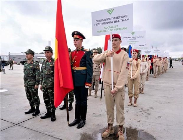 Le Vietnam participe aux « International Army Games » 2019 en Russie hinh anh 1