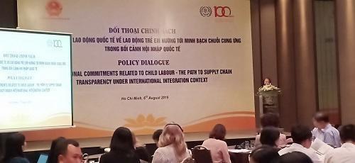 Dialogue sur le travail des enfants a Ho Chi Minh-Ville hinh anh 1