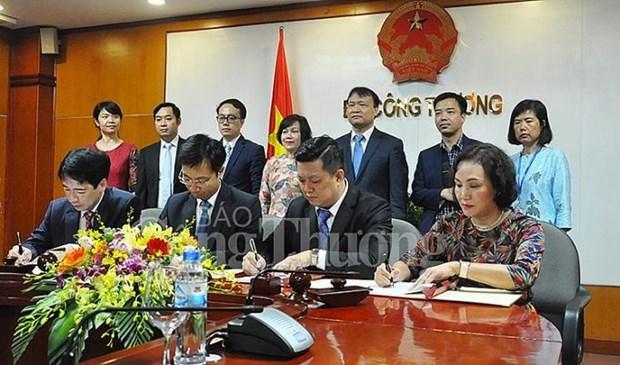 Le ministere de l'Industrie et du Commerce coopere avec MM Mega Market hinh anh 1