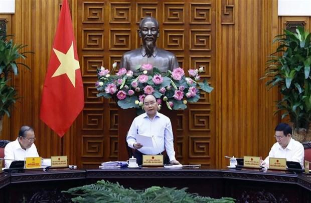 Le PM preside une reunion pour la preparation du 13e Congres national du Parti hinh anh 1