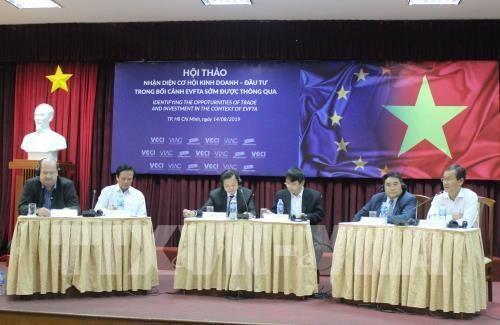 Le libre-echange Vietnam-UE demande de plus grands efforts aux entreprises vietnamiennes hinh anh 1
