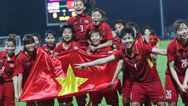 Football feminin : le Vietnam ecrase le Cambodge lors du championnat de l'AFF hinh anh 1