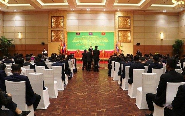 Conference des Commissions de la defense et de la securite des AN du Cambodge, du Laos et du Vietnam hinh anh 1