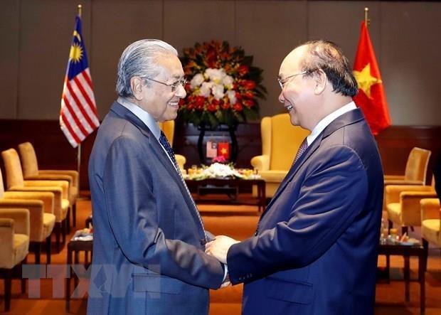La visite au Vietnam du PM malaisien couronnee de succes hinh anh 1