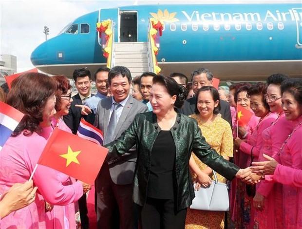 La presidente de l'AN vietnamienne visite la province thailandaise d'Udon Thani hinh anh 1