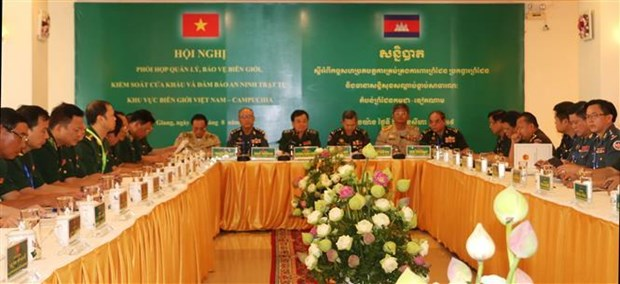 Table ronde sur la cooperation frontaliere Vietnam-Cambodge hinh anh 1