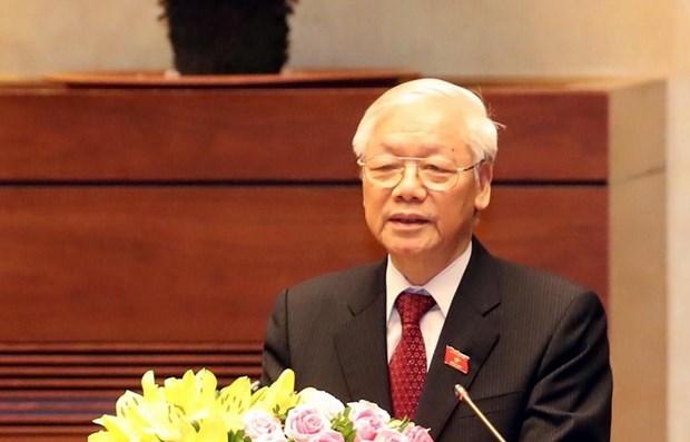 Le dirigeant Nguyen Phu Trong salue la nouvelle annee scolaire hinh anh 1