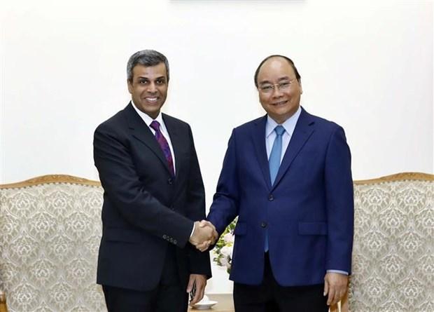 Le PM recoit le ministre koweitien du Petrole hinh anh 1